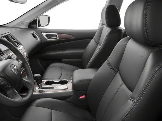 Nissan Pathfinder Platinum >> 2018 Nissan Pathfinder Platinum